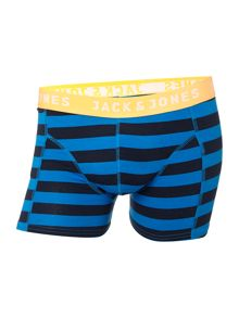Jack & Jones 3pack yarn dyed block mix trunks