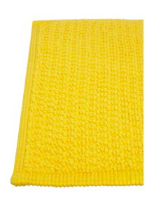 Linea Cotton bobble pedestal mat in sunshine