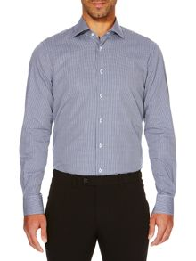 Slim Fit Mini Check Shirt