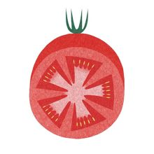 Joseph Joseph Red Tomato 30x30cm Worktop Saver