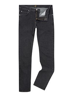 Malone black wash skinny fit jean
