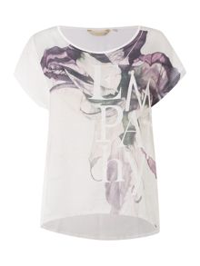 Salsa Jamica short sleeve printed front tee