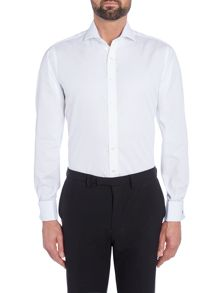 Simon Carter Slim Fit Double Cuff Shirt