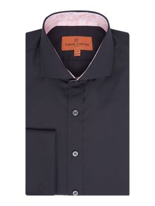 Simon Carter Simon Carter Regular Fit Double Cuff Shirt