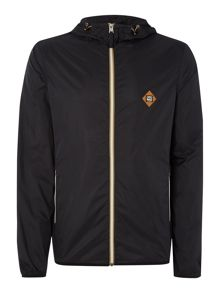 Hooded Light Weight Zip Through Jacket