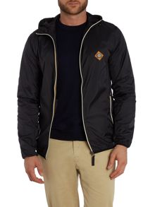 Jack & Jones Hooded Light Weight Zip Through Jacket