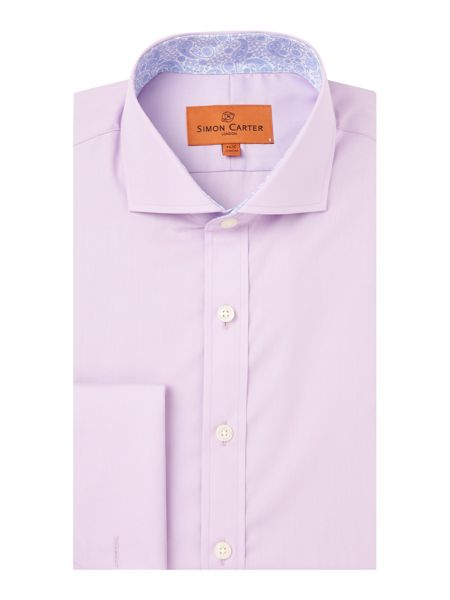 Simon Carter Regular Fit Double Cuff Shirt