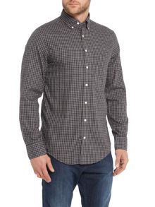 Gingham Heather Twill Shirt