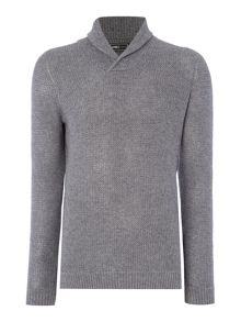 Jack & Jones Shawl Neck Knitted Jumper