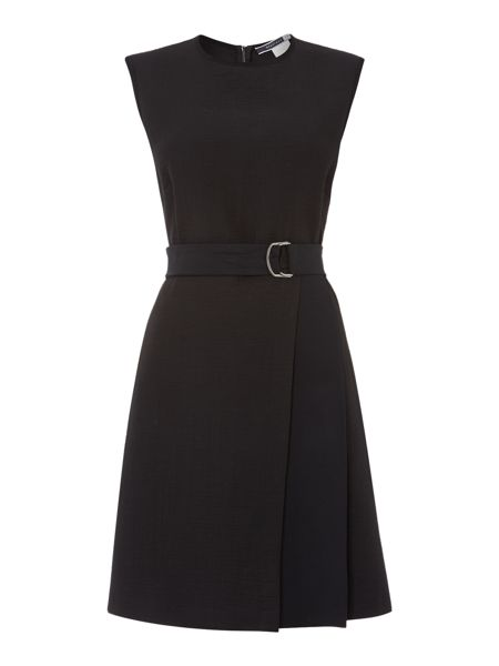 Sportmax Code Luchino belted front wrap dress