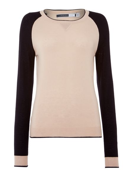 Sportmax Code Volare cashmere colour block sweater