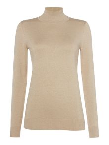 Episode Fine knit polo neck jumper