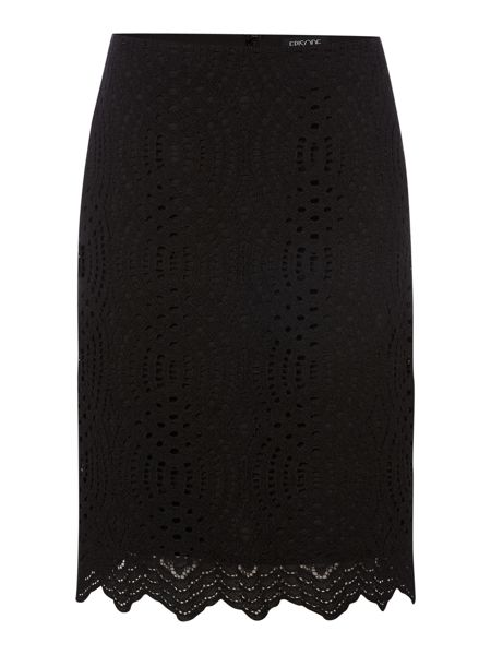 Episode Textured lace pencil skirt