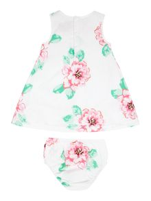 Girls Floral dress with pants set