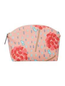 Flower shower multicoloured cosmetic bag