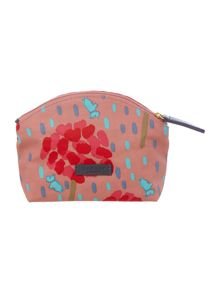 Flower shower multi coloured small cosmetic bag