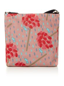 Flower shower multicoloured medium crossbody bag
