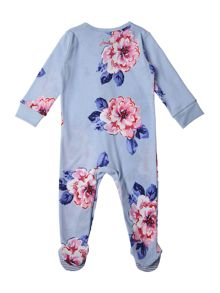 Joules Girls Floral print all in one