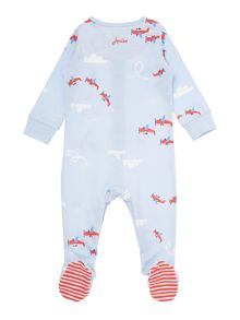 Joules Boys Plane print all in one