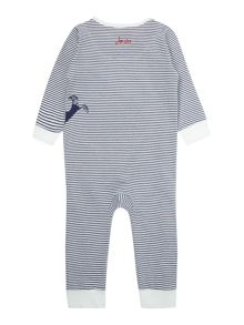 Joules Boys Whale applique all in one