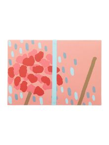 Radley Flower shower multicoloured stationary wallet
