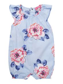 Joules Girls Floral romper