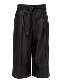 Episode Faux leather culotte