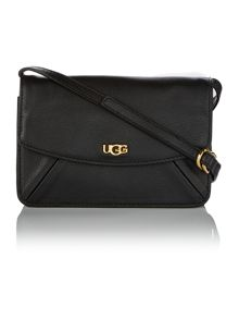 Rae black small cross body bag