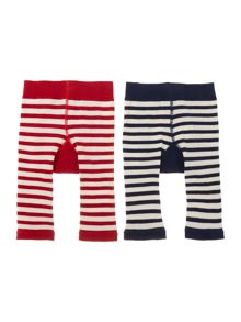Joules Boys Fox and Racoon 2 pack leggings