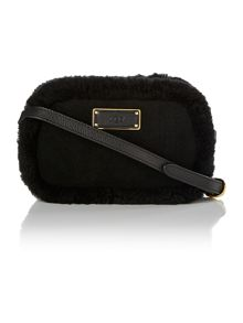 Seldon black small cross body bag