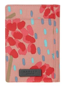Flower shower multi coloured passport cover