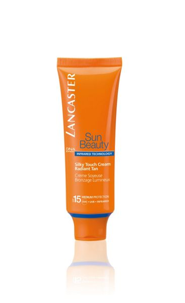 Lancaster Silky Touch Cream Radiant Tan Face  SPF15 50ml