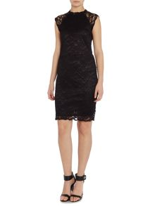 Y.A.S. Sleeveless lace dress