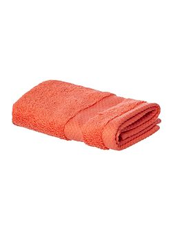 Softer Feel Egyptian face cloth coral