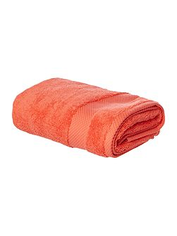 Softer Feel Egyptian hand towel coral