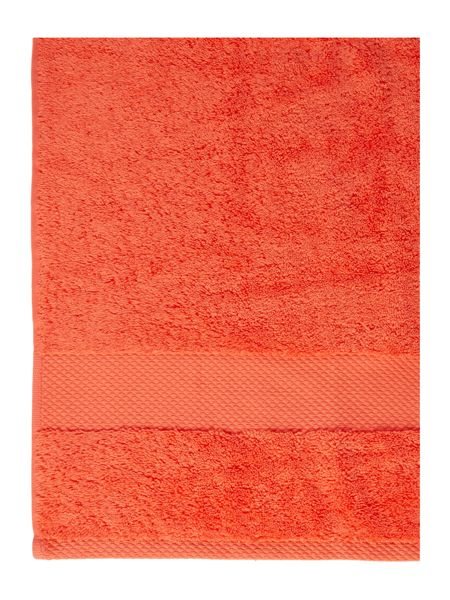 Linea Softer Feel Egyptian hand towel coral