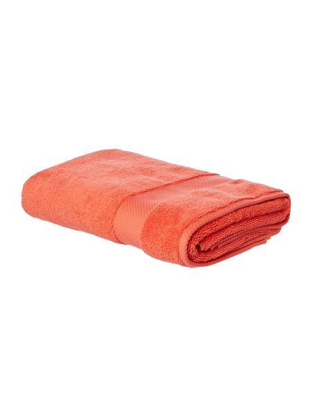 Linea Softer Feel Egyptian bath towel coral