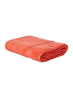 Softer Feel Egyptian bath sheet coral