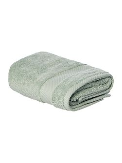 Softer Feel Egyptian hand towel duck egg
