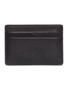 Michael Kors Crossgrain leather cardholder