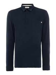 Farah Regular fit wallingham long sleeve polo shirt