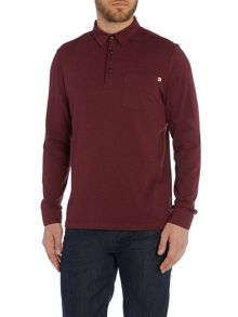 Regular fit wallingham long sleeve polo shirt