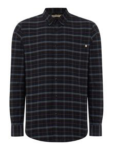 Farah Timothy regular fit button down large check shirt