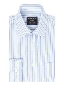 Howick Tailored Beaconsfield Tonal Stripe Shirt