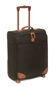Life olive lightweight 54cm trolley suitcase