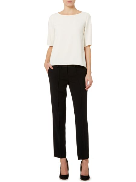 Marella Variety straight leg fitted trouser