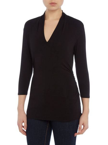 Vince Camuto Jersey 3/4 sleeve top