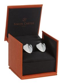 Polished Shield Cufflinks