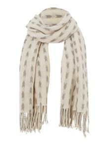 Gray & Willow Alex jacquard textured scarf