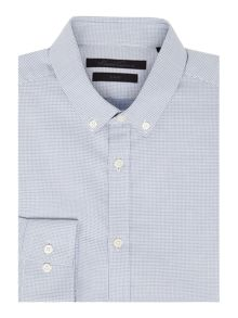 Kenneth Cole Johan Button Down Textured Shirt